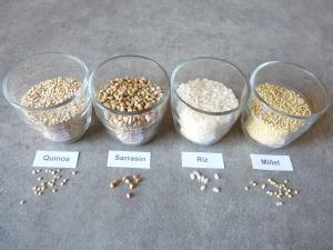 grains sans gluten